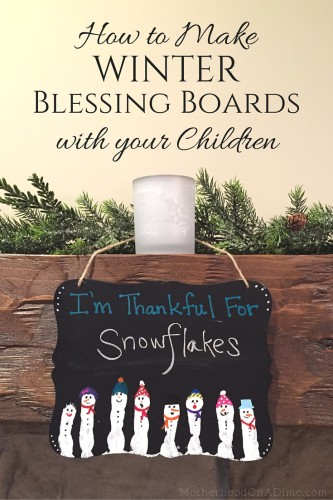 How to Make Winter Blessing Boards with your Children (1)