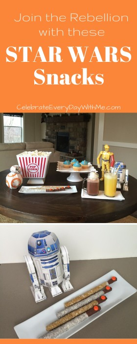 Join the Rebellion with these Star Wars Snacks 2