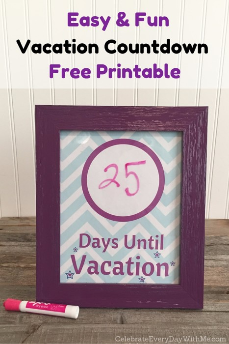 Make an Easy & Fun Vacation Countdown with Free Printable (1)