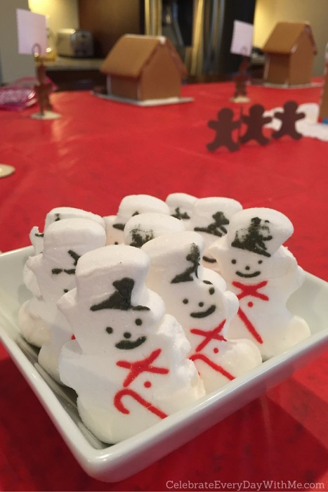 Snowy Gingerbread House Party - 1