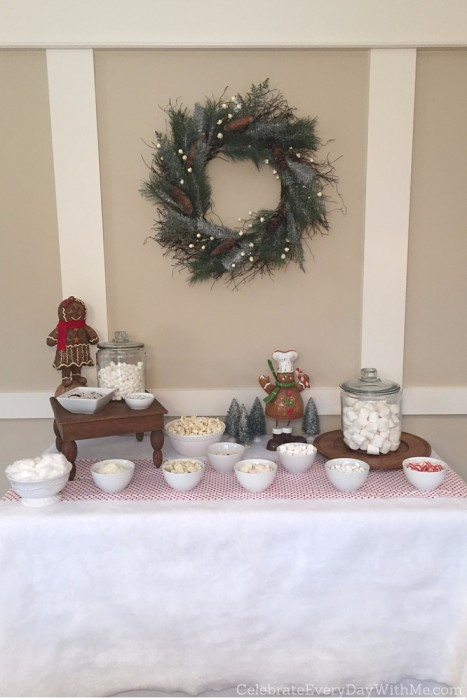 Snowy Gingerbread House Party - 8