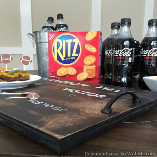 how to make a serving tray that will score at your football party (43)