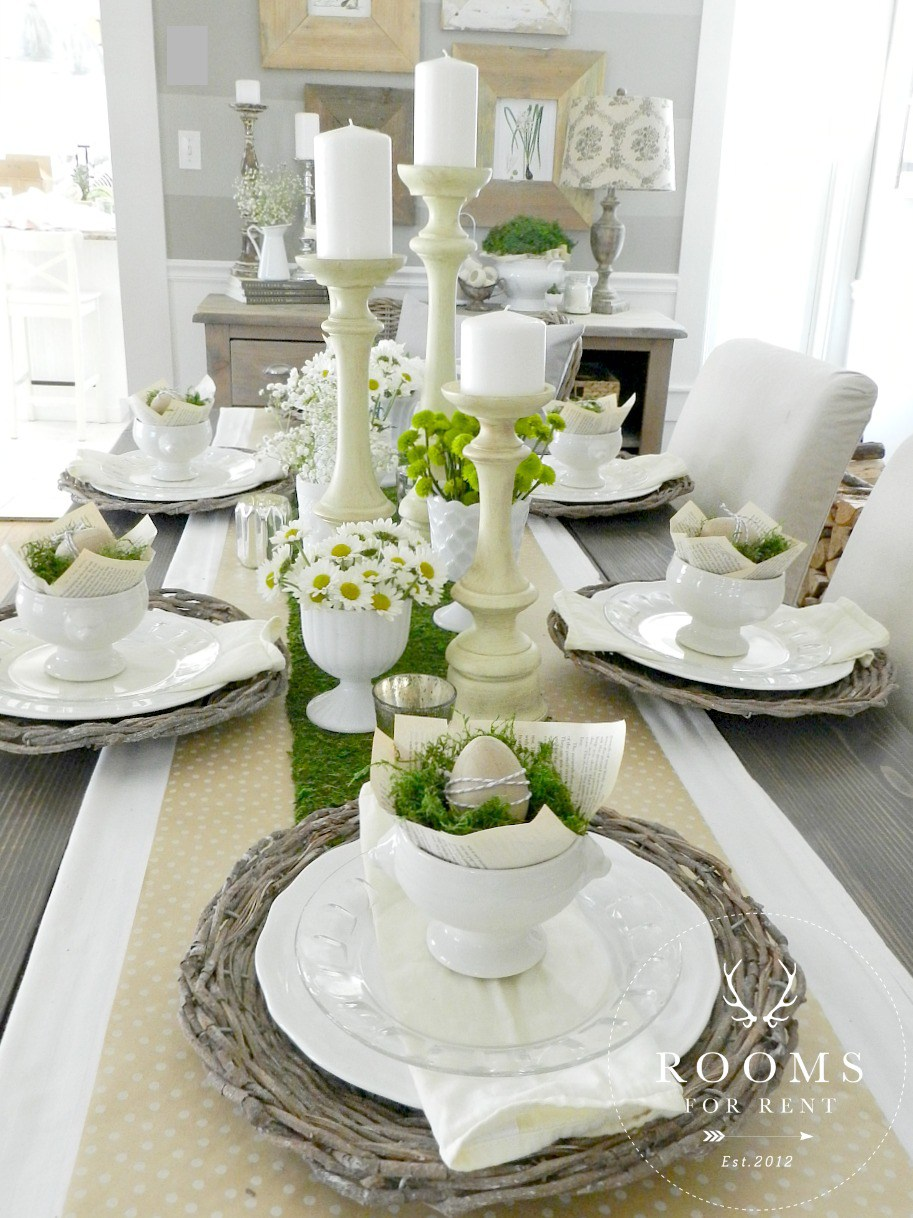 25 inspiring tablescapes that will make you say hello for Tablescape decor