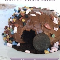 How to Make an Empty Tomb Cake