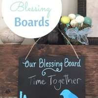 Inspire your Family to be Thankful with Spring Blessing Boards