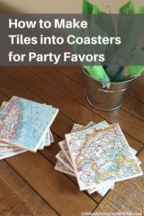 How to Make Tiles into Coasters for Party Favors (16)
