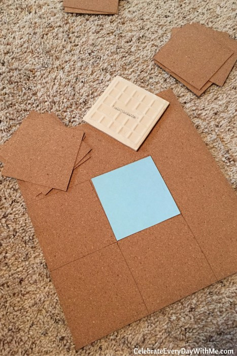 How to Make Tiles into Coasters for Party Favors (9)