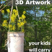 How to Make 3D Artwork Your Kids Will Carry All Summer