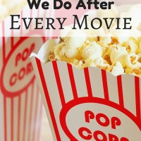 The One Thing We Do After Every Movie