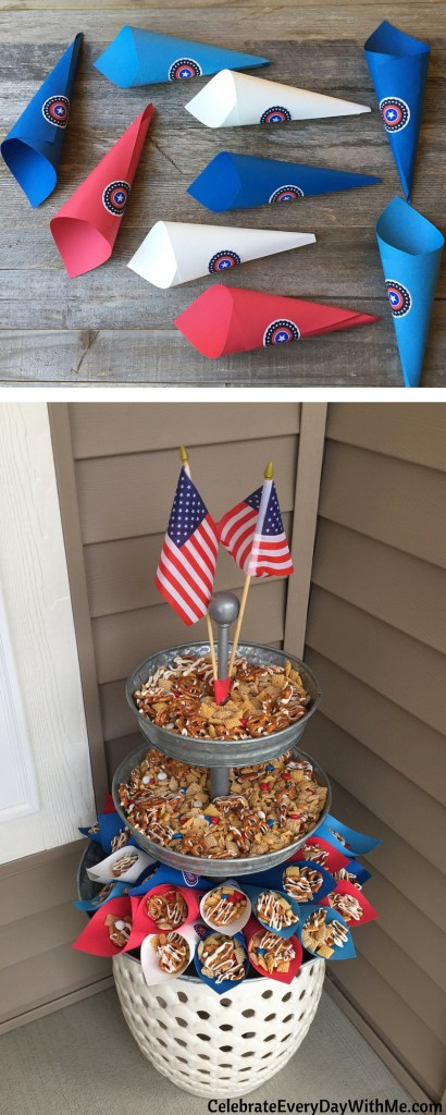 You'll love this easy patriotic snack mix (19)