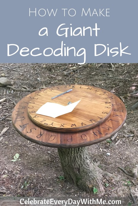 How to make a giant decoding disk (41)