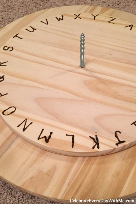 How to make a giant decoding disk (9)