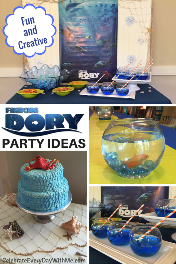 Fun & Creative Finding Dory Party Ideas