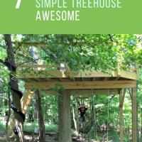 7 Things We Did to Make Our SImple Treehouse Awesome