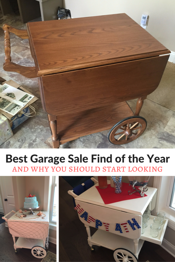 The Best Garage Sale Find Of The Year Celebrate Every