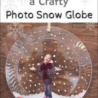 How to Make a Crafty Photo Snow Globe