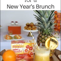Pineapple Citrus Cooler for a New Year's Brunch