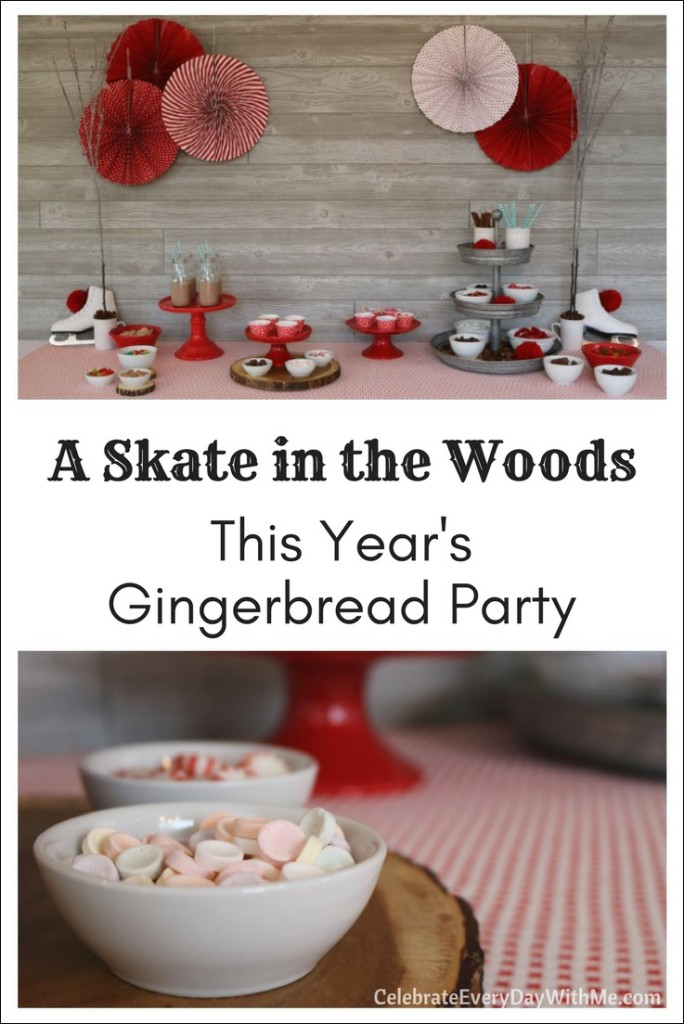 A Skate in the Woods ~ This Year's Gingerbread Party