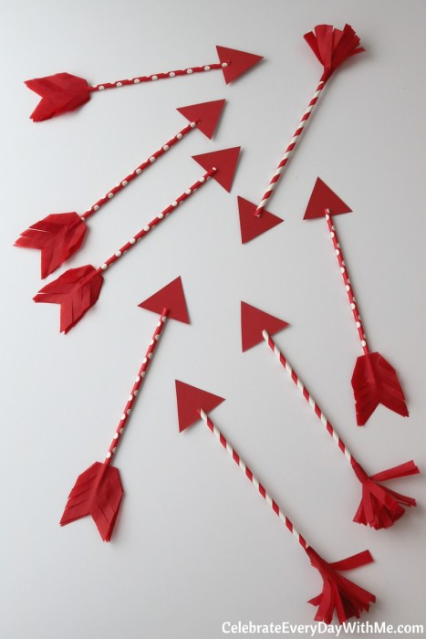 DIY Valentine Arrows for The One You Love (48b)
