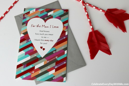 DIY Valentine Arrows for The One You Love - American Greetings Card with arrows!