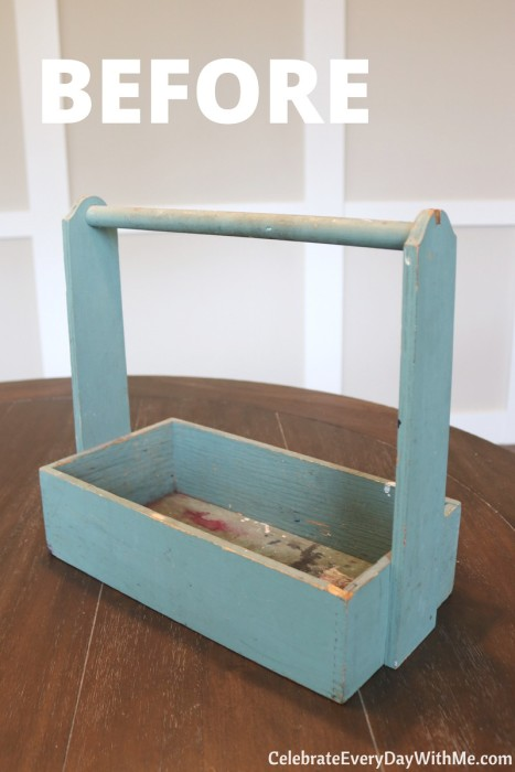 How to Turn a Junky Tool Box into a Beautiful Tea Caddy (1b)