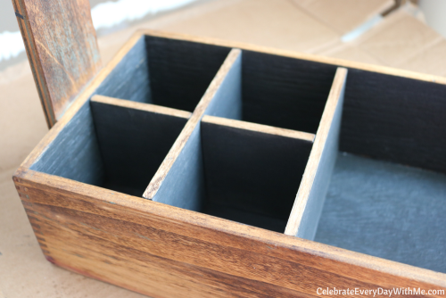 How to Turn a Junky Tool Box into a Beautiful Tea Caddy (21)