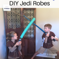 How to Make a No-Sew Jedi Robe