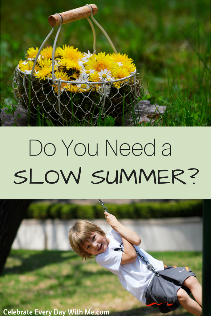 How to Be Purposeful About a Slow Summer