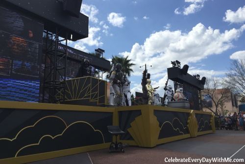 star wars galaxy far far away - daytime show at Hollywood Studios - Disney World