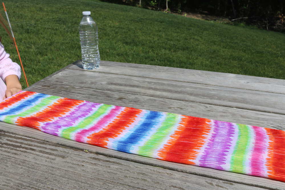 Sewing for Kids:  From Dollar Store Scarf to Stylish Water Bottle Carrier