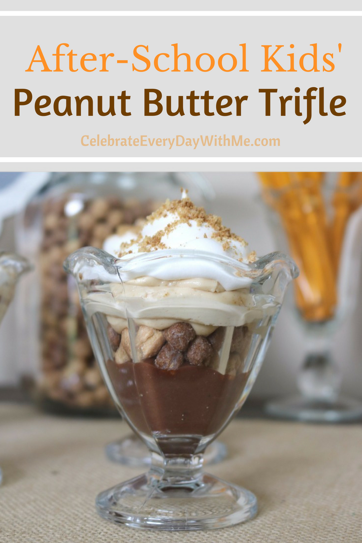 After-School Kids' Peanut Butter Trifle