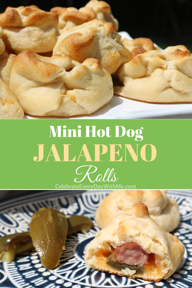 Mini Hot Dog JALAPENO Rolls – A Yummy Appetizer for Your Next Party