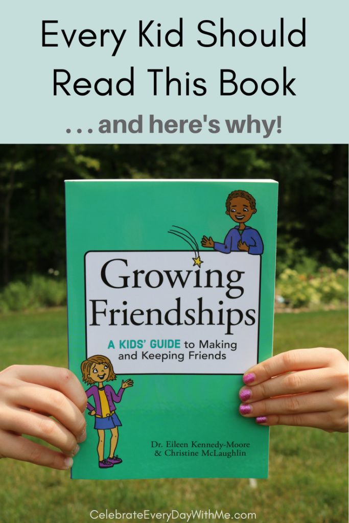 GROWING FRIENDSHIPS:  A Book That Every Kid Should Read