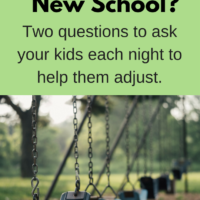 help your kids adjust to a new school