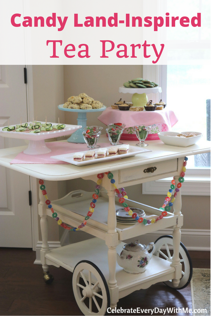 Candy Land – Inspired Tea Party