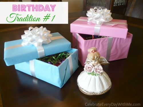 birthday tradition #1