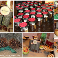 An Outdoor Themed Bridal Shower