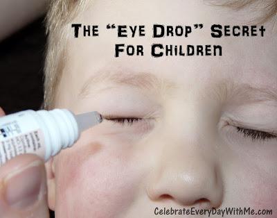 can take eye drop every day