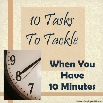 10 minutes when you have 10 tasks