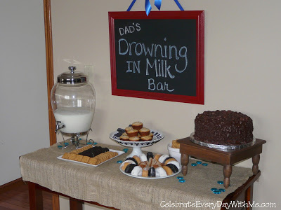 drowning in milk - dunking party 2