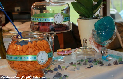Creative Food Names For Sea Turtle Baby Shower