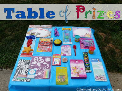 Good prizes for birthday games