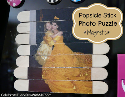 Popsicle Stick Photo Puzzle Magnetic 2