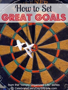 How to set great goals
