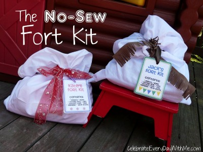 No-Sew Fort Kit