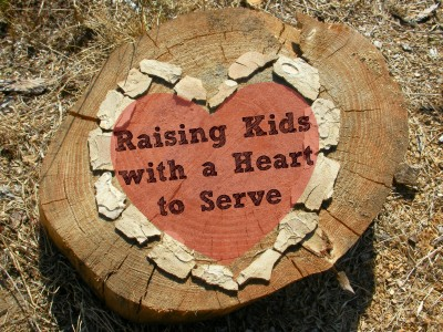 Raising Kids with a Heart to Serve