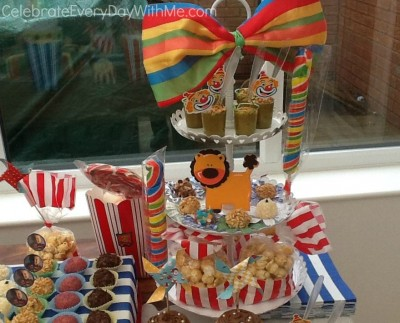 clown birthday party 6
