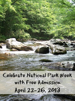 free admission national park week