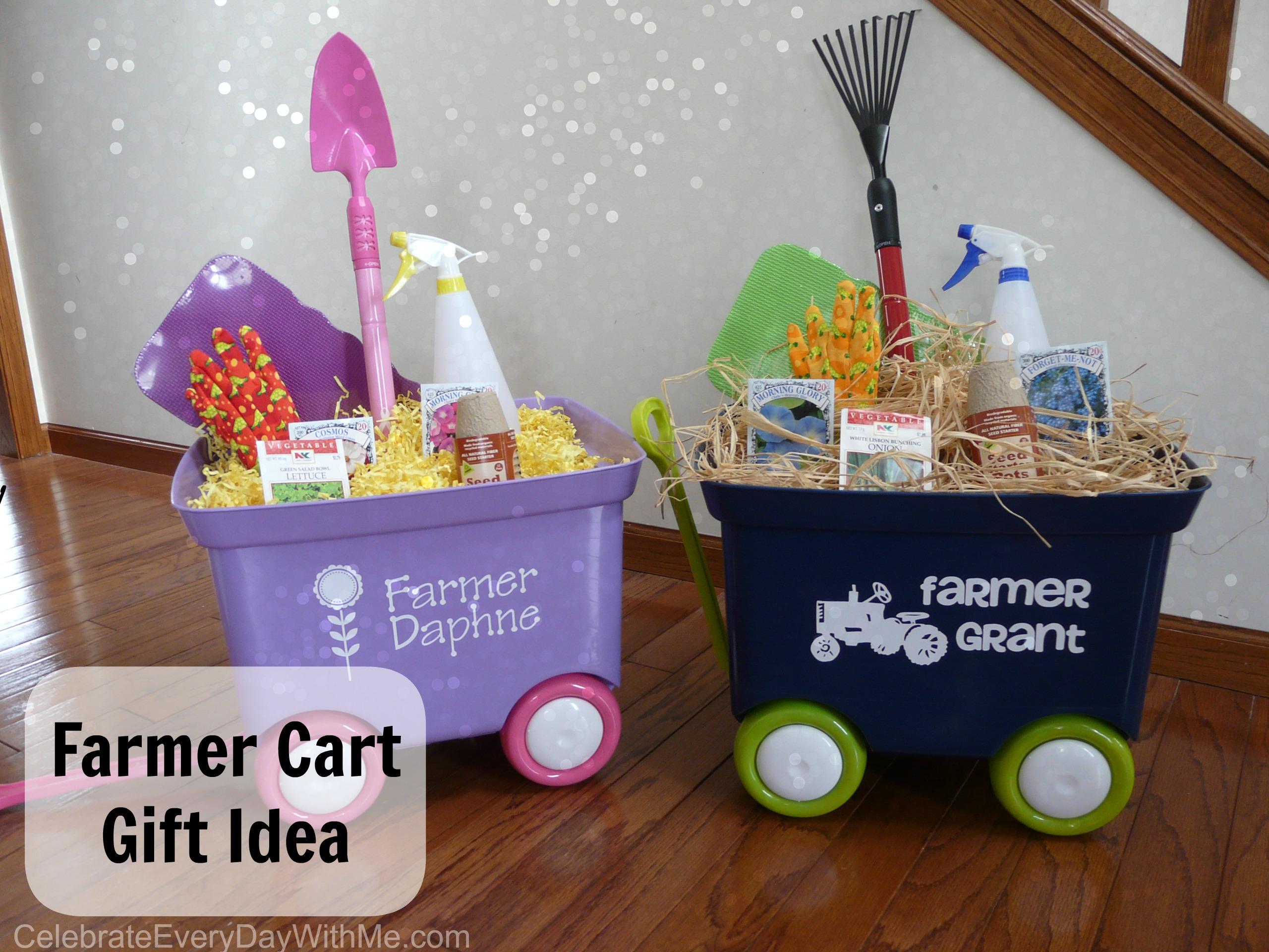 Farmer Cart Gift Idea 2