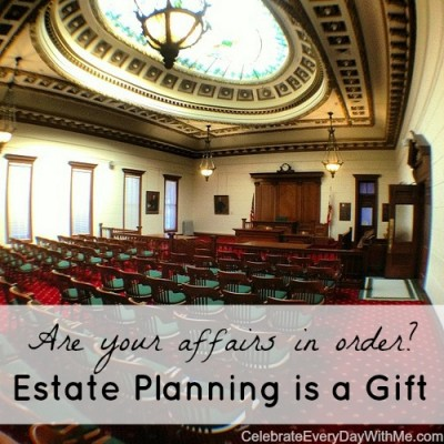 estate planning is a gift